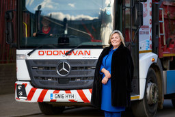 Jacqueline O'Donovan, Managing Director of O'Donovan Waste Disposal