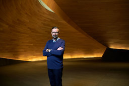 Michael Jones, senior partner at Foster + Partners, and project architect of the new Bloomberg European Headquarters